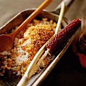 Fried rice with sweetcorn
