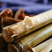 Rice steamed in bamboo tube (China)