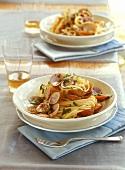 Spaghetti alle vongole (Spaghetti mit Venusmuscheln, Italien)