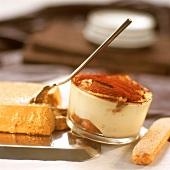 Tiramisù e Caffè in forchetta (Layered dessert & coffee cream)