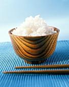 Basmati rice in a bowl