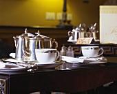Gedeckter Tisch zur Teatime im 'Merrion', Dublin, Irland