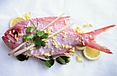 Red snapper covered in Asian spices