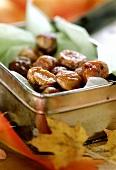 Caramelised chestnuts (sweet chestnuts)