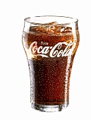 A glass of Coca Cola