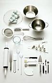 Assorted baking utensils