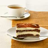 Chocolate cake with mascarpone filling for diabetics