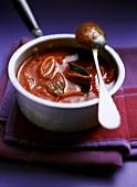 Tomaten-Zimt-Sauce