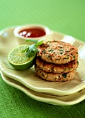 Fish cakes with coriander and tamarind
