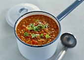 Lentil and tomato stew