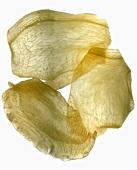 Slices of preserved ginger