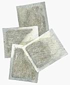 Four tea bags
