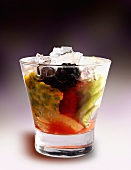 Caipirinha with fruit