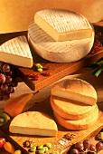 Reblochon and Münster cheese