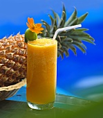 Chilled pineapple drink