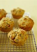 Spinach and chorizo muffins