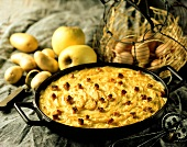 Potato and apple gratin