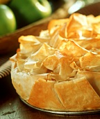 Croustade aux pommes (apples in puff pastry, France)