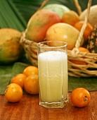Jugo de lulo (naranjilla juice, Colombia)
