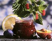 Five fruit jam