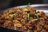 Kanda bhaji (deep-fried onions in batter, India)