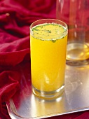 Panna sherbet (mango drink, India)