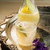 Middle Eastern lime lemonade