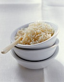 Grated Parmesan in small bowl