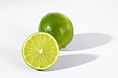 One whole and one half lime