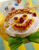Cake with clown's face