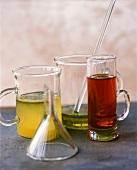 Verschiedene ätherische Öle