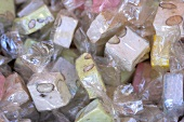Several packets of Turkish Delight (filling the picture)