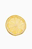 Eine Zitronenscheibe
