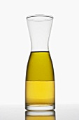 Oil and vinegar in a carafe