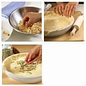 Making a pie base
