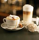 Cappucino und Latte Macchiato