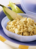 Oat cereal with pear (for babies from 8th month)