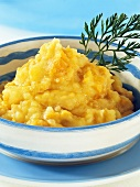 Mashed potato with carrots