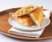 Apple turnovers with marzipan