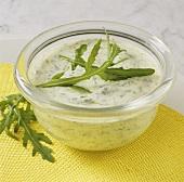Green sauce (herb sauce with rocket)