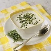 Cress and horseradish sauce