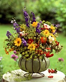 Colourful summer bouquet