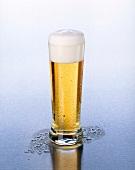 Helles Bier in einem Glas