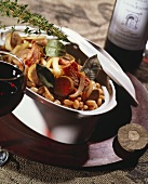 Cassoulet (meat and bean stew from South of France)