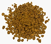 Instant coffee powder (close-up)