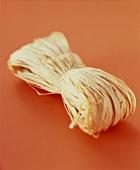 A bundle of raffia
