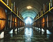 'Cathedral Cellar' in KWV Headquarters, Paarl, S. Africa