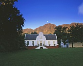 Rustenberg Winery, rich in tradition, Stellenbosch, S. Africa