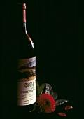 Eine Flasche Cabernet Sauvignon Heitz Martha's Vineyard 1974