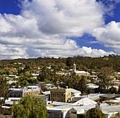 Die Stadt Clare vom Billy Goat Hill aufgenommen, Australien